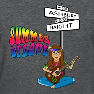 Haight Ashbury Summer of Love Women's Standard Weight T-Shirt - Women's T-Shirt