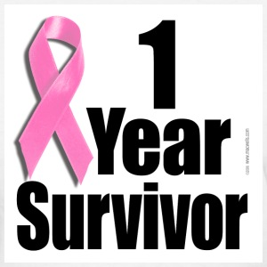 Breast Cancer - 1 Year Survivor - Women's T-Shirt