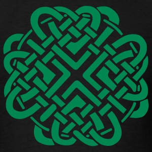 Black Celtic Love Knot T-Shirts - Men's T-Shirt