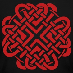 Black Celtic Love Knot Long Sleeve Shirts