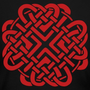 Black Celtic Love Knot Long Sleeve Shirts - Women's Long Sleeve Jersey T-Shirt
