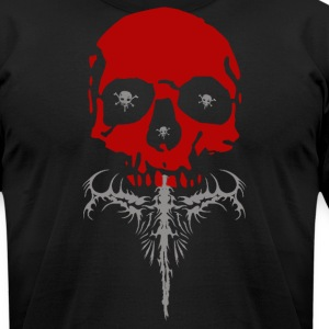Skull thing - Men's T-Shirt by American Apparel
