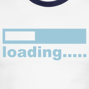 White/navy computer T-Shirts - Men's Ringer T-Shirt