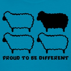 Different Sheep (Black Sheep)