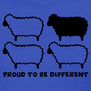 Different Sheep (Black Sheep) - Women's T-Shirt