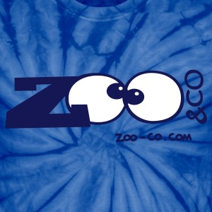 Spider baby blue Zoo&co's Logo T-Shirts - Unisex Tie Dye T-Shirt