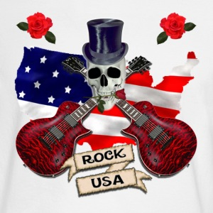 White Rock USA Long Sleeve Shirts - Men's Long Sleeve T-Shirt