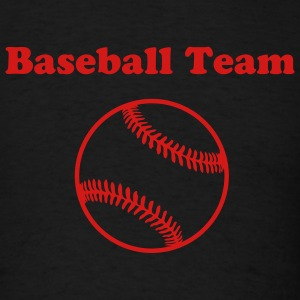Black baseball T-Shirts - Men's T-Shirt