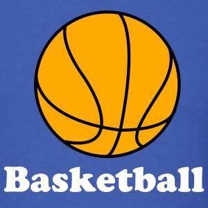 Royal blue Basketball. Make your own Design T-Shirts - Men's T-Shirt