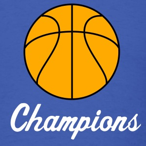 Royal blue basketball 2 color for team shirts T-Shirts - Men's T-Shirt