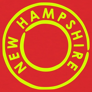 Red New Hampshire T-Shirts - Men's T-Shirt