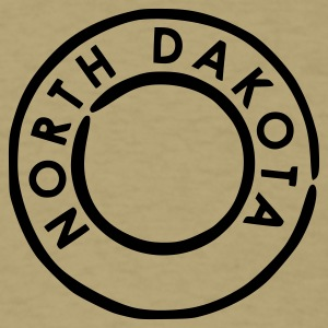 Khaki North Dakota T-Shirts - Men's T-Shirt