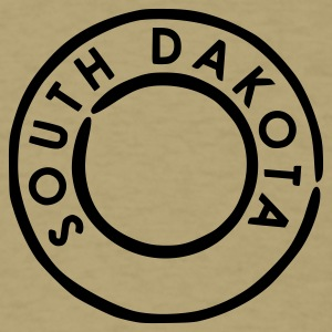 Khaki South Dakota T-Shirts - Men's T-Shirt