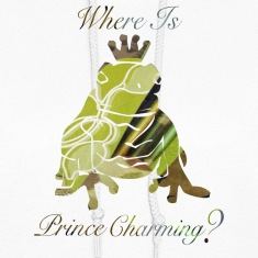 White Where Is PRINCE CHARMING? Hooded Sweatshirts
