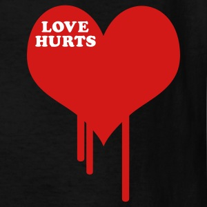 Black Love Hurts Kids' Shirts - Kids' T-Shirt