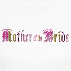 White MOTHER of the BRIDE Long Sleeve Shirts