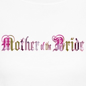 White MOTHER of the BRIDE Long Sleeve Shirts - Women's Long Sleeve Jersey T-Shirt