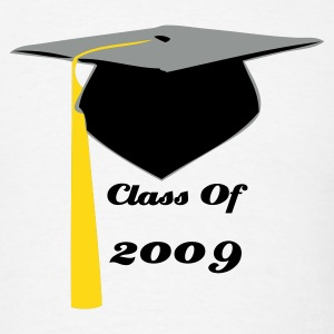 White Graduating class of 2009 T-Shirts - Men's T-Shirt