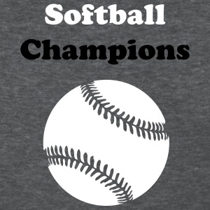 Deep heather Custom softballl Women's T-Shirts - Women's T-Shirt