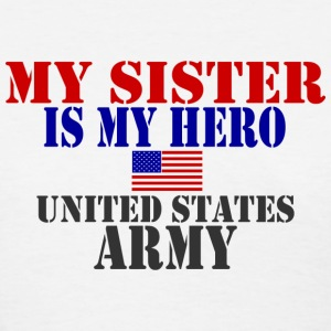 White SISTER HERO ARMY Women's T-Shirts - Women's T-Shirt