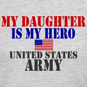Gray DAUGHTER HERO ARMY Long Sleeve Shirts - Women's Long Sleeve Jersey T-Shirt