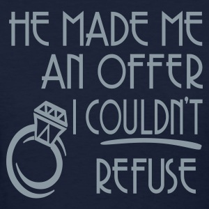 Navy He Made Me An Offer I Couldn't Refuse Women's T-Shirts - Women's T-Shirt