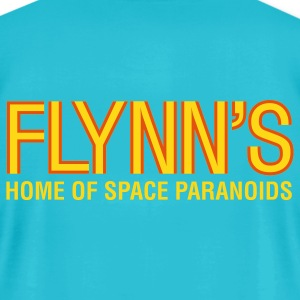 Turquoise Flynn's T-Shirts - Men's T-Shirt by American Apparel