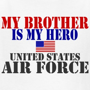 White BROTHER HERO USAF Kids' Shirts - Kids' T-Shirt