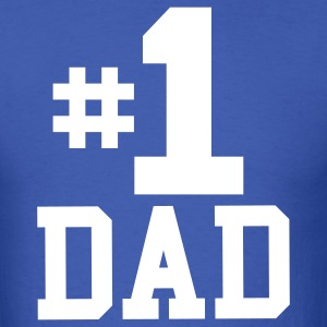 Number One Dad T-Shirt - Men's T-Shirt