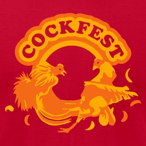 Cockfest - Men's T-Shirt by American Apparel