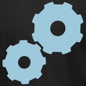 Gears - Men's T-Shirt by American Apparel