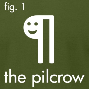 The Pilcrow - Men's T-Shirt by American Apparel
