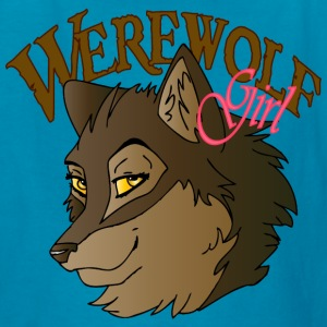 Werewolf Girl - Kids' T-Shirt