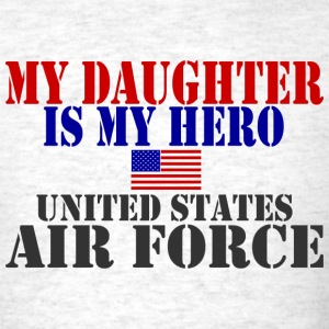 Ash  DAUGHTER HERO USAF T-Shirts - Men's T-Shirt