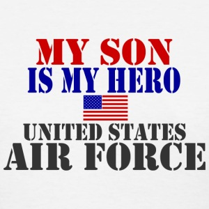 White SON HERO USAF Women's T-Shirts - Women's T-Shirt