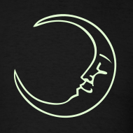 Design ~ Moon Tee - Glow in the Dark