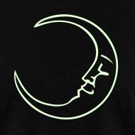 Design ~ Moon Tee - Glow in the Dark