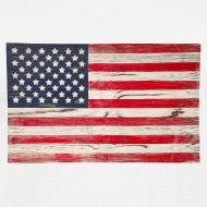 Design ~ American Vintage flag V-Neck Tee