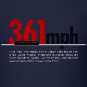 Maglev Train Speed Standard Tee - Men's T-Shirt