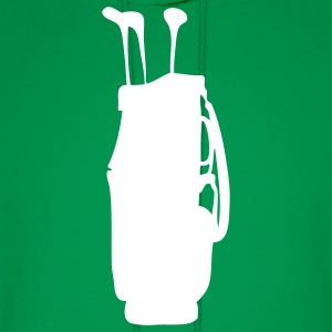 Green golf bag Hoodies - Men's Hoodie