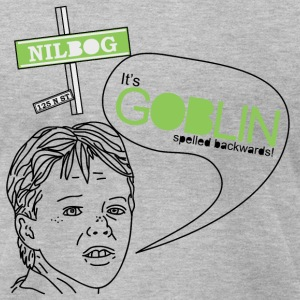 GOBLIN SPELLED BACKWARDS! Sweat - Men's T-Shirt by American Apparel
