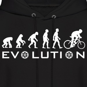 The Original Evolution Of Bike - Men's Hoodie