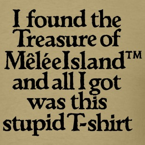 Monkey Island: Mêlée Island Treasure T-Shirts - Men's T-Shirt