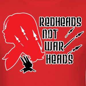 Redheads not Warheads Conchords - Men's T-Shirt