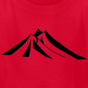 Red mountains - hill - nature - mount Kids' Shirts - Kids' T-Shirt