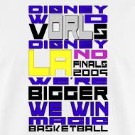 Design ~ DisworldvsDisland finals tee