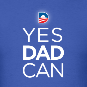 Design ~ YES Dad Can Royal Blue