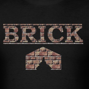 Brick shit house - Men's T-Shirt