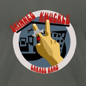 Skinned Knuckle Garage Band Men's AA Tee - Men's T-Shirt by American Apparel