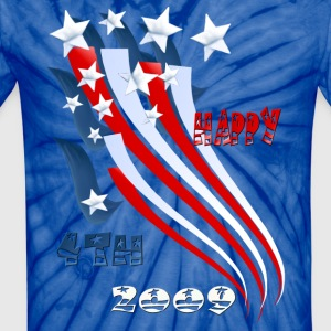 Independence Day  - Unisex Tie Dye T-Shirt